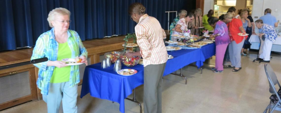 DINNER CHRUCH AT ST. MATTHEW'S